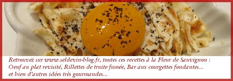 Recettes Fleur de Sauvignon